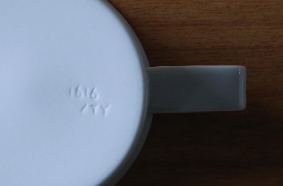 1616 / arita japan TYマグカップ ハンドル  画像3