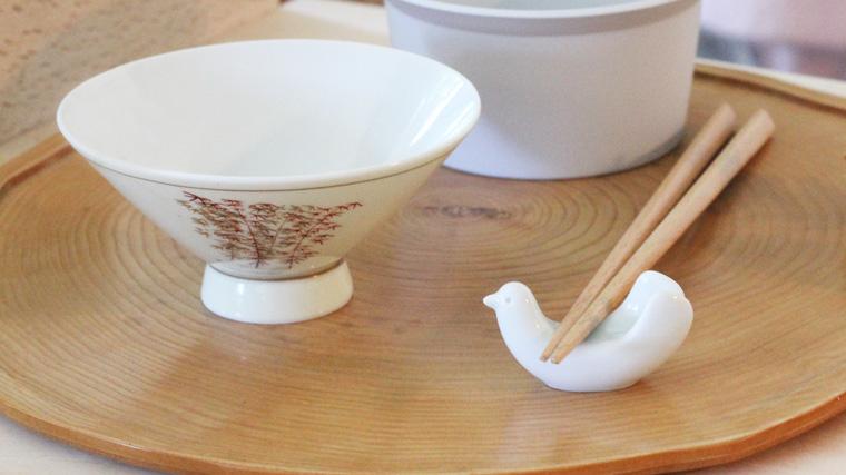 白山陶器 鳥のはし置き 画像 02
