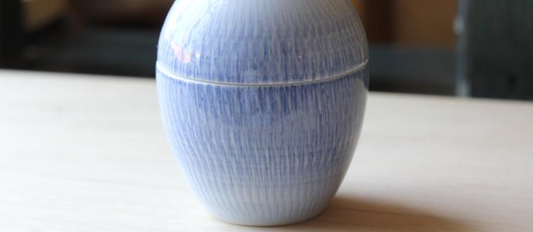 白山陶器 鳥のようじ立て 画像 05