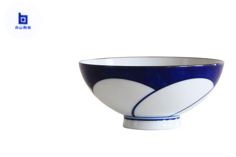 ねじり梅 白山 陶器 茶碗 画像1