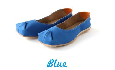 バブーシュサンダル tote ブルー