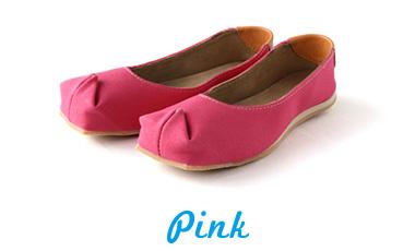 バブーシュサンダル tote ピンク