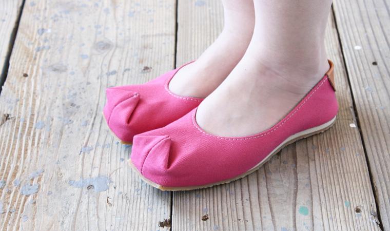 バブーシュサンダル tote ピンク 画像4